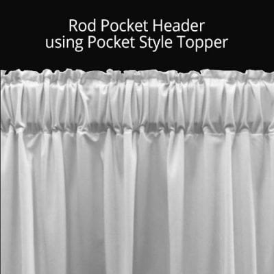 Rod Pocket Header